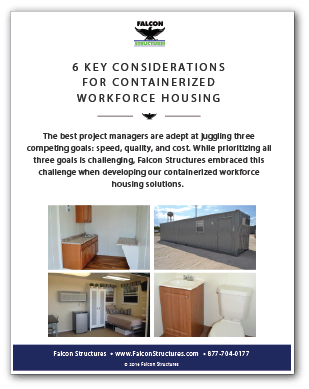 Cover image of 6 Key Considerations for Containerized Workforce Housing.