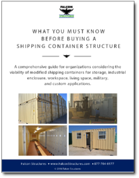 Click to learn what you must know before buying a shipping container structure