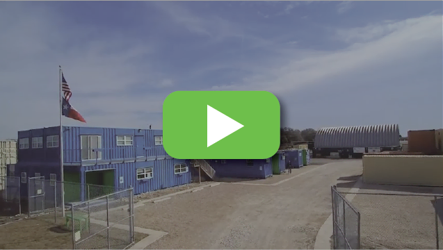 View video to learn why you should trust Falcon Structures to create your portable container building.