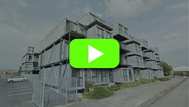 Seven Shipping Container Apartments Video
