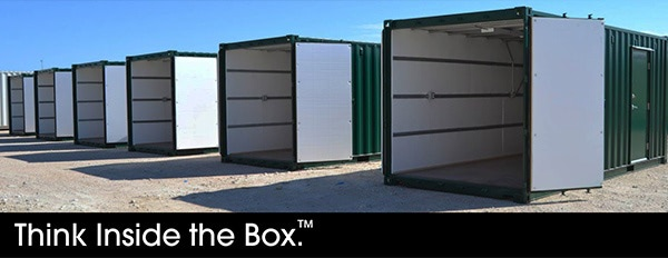 Modified shipping containers have unlimited potential.
