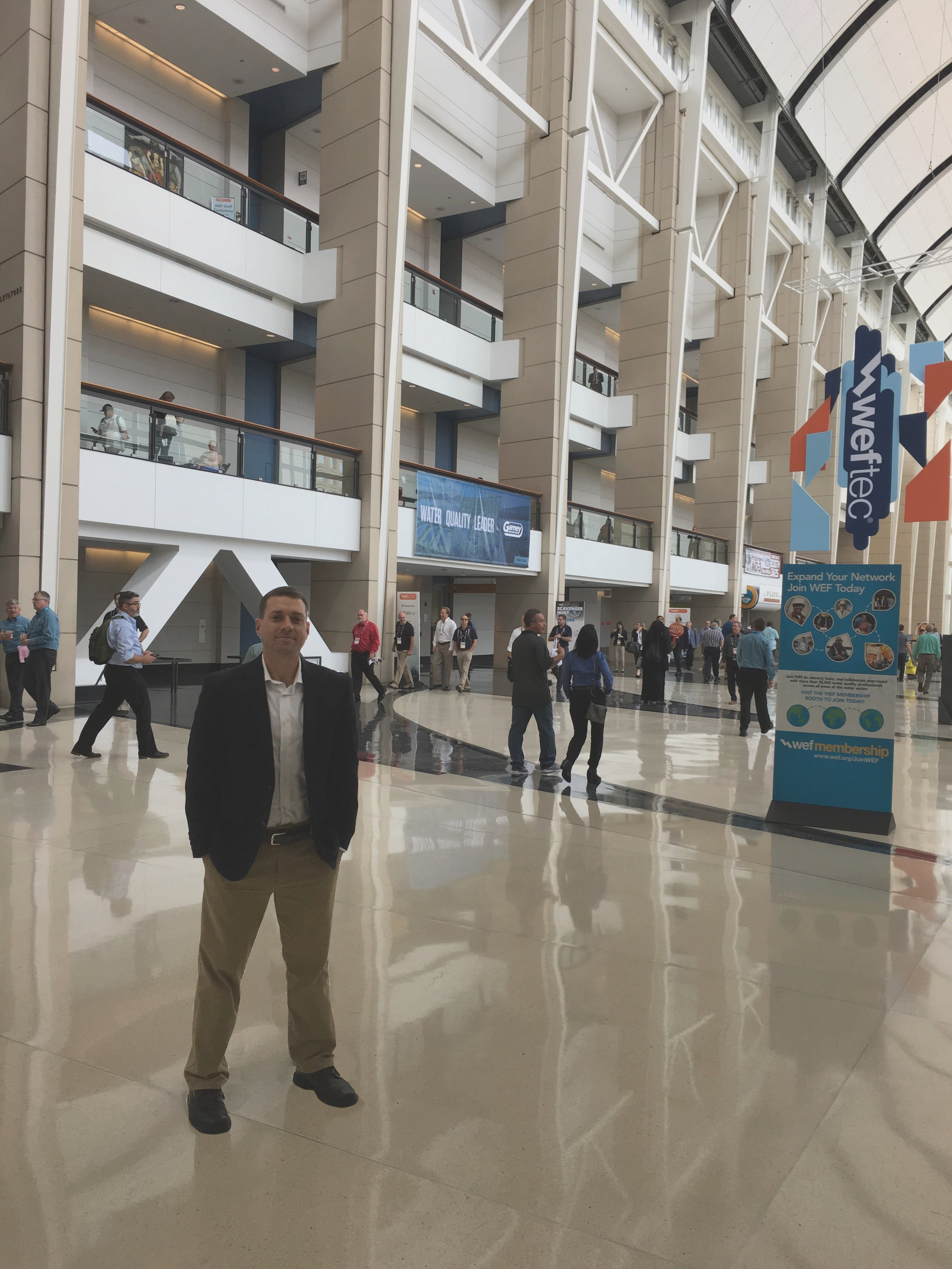 Brent Mayes attends WEFTEC to scope out the water treatment industry's innovative trends.