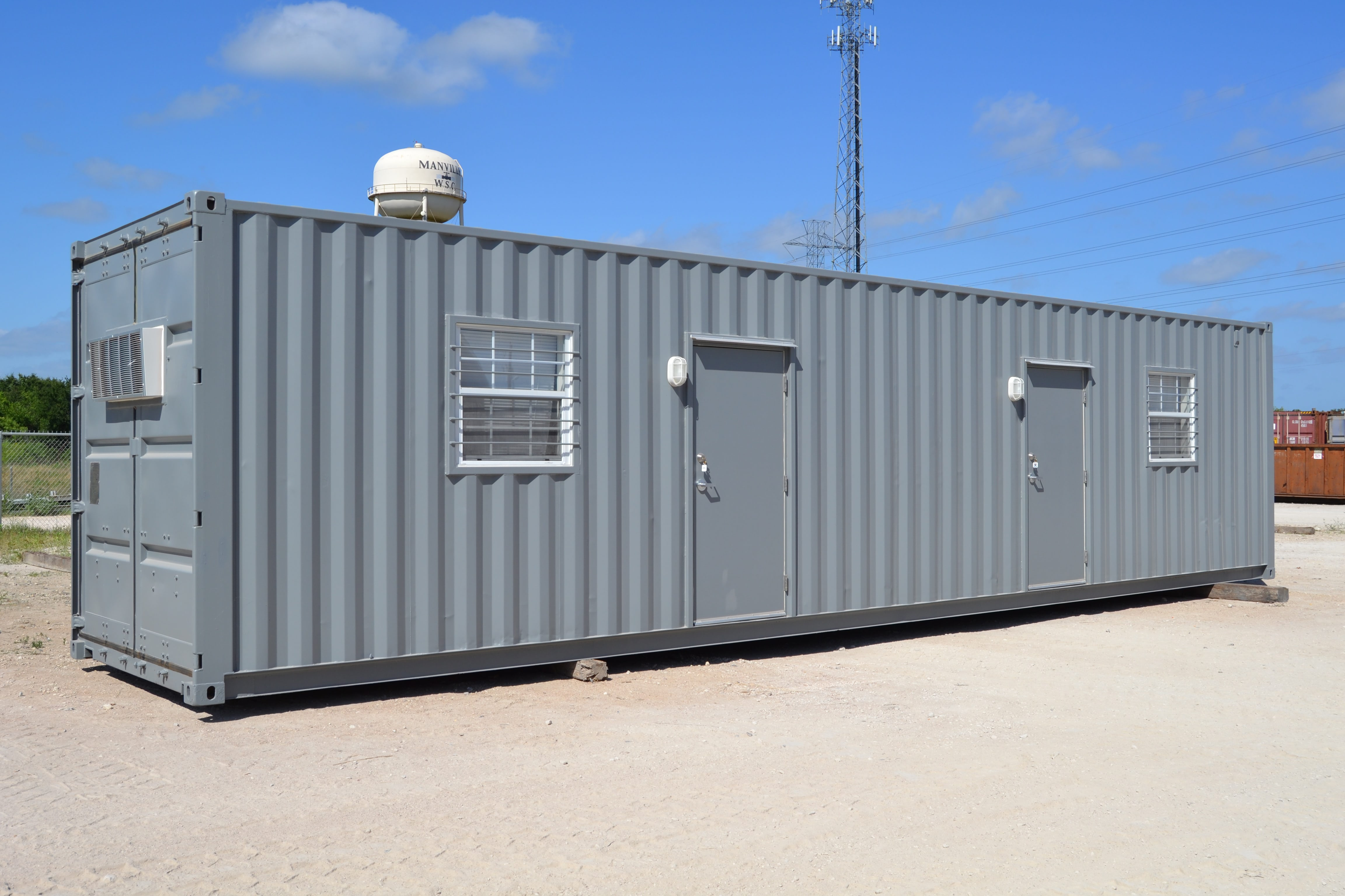 Shipping Container housing is durable, but maybe not a long term home.