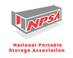Logo for the National Portable Storage Association