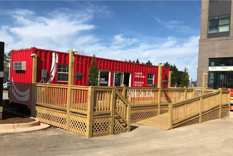 How Shipping Containers Outshine Trailers as Mobile Sales Offices