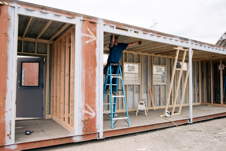 Plan Ahead With Innovative Relief Conex Housing