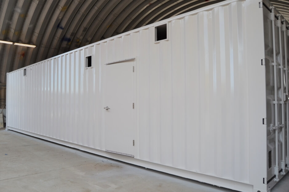 Why Shipping Containers Make Ideal Motor Control Center Enclosures