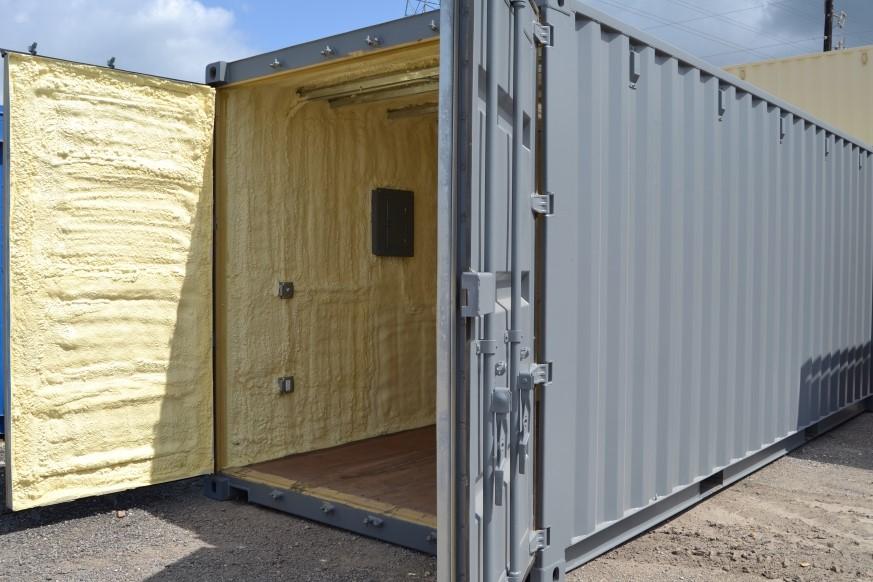 Insulation option cover